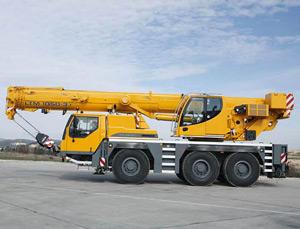 Автокран Liebherr LTM 1050 50 тонн в Москве и Московской области