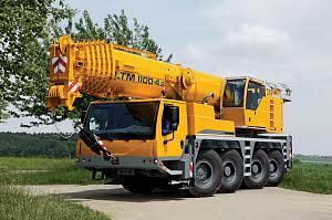 Автокран Liebherr LTM 1100 100 тонн
