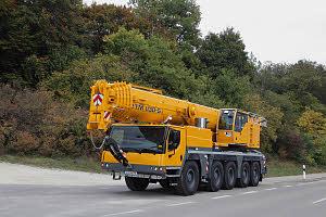 Автокран Liebherr LTM 1130 130 тонн