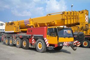 Автокран Liebherr LTM 1160 160 тонн