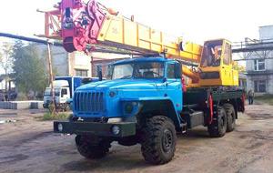 Автокран-вездеход «Углич» 35 тонн