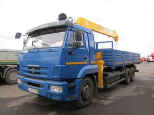 Манипулятор КАМАЗ-65117 - 7 тонн