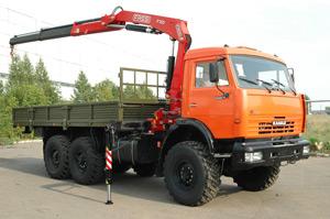 Аренда манипулятора КАМАЗ-65117 (Вездеход) - 7 тонн