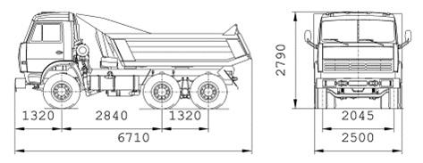 Характеристики КАМАЗ 55111