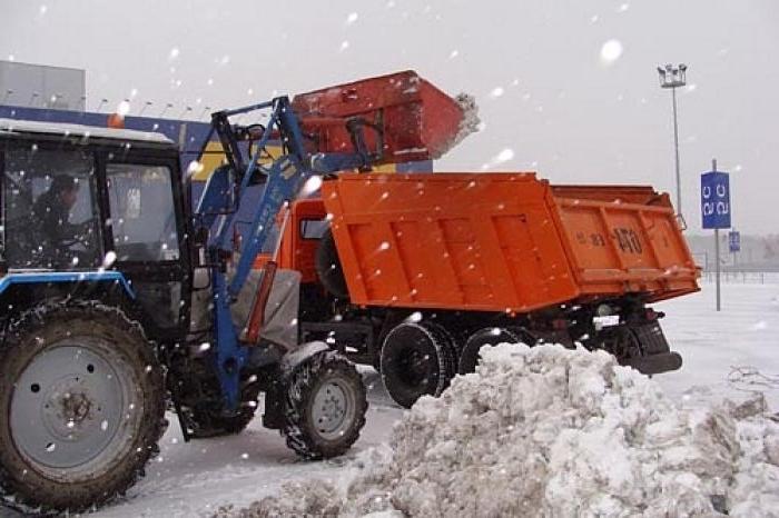 Аренда техники для механизированной уборки снега и наледи