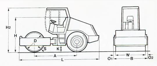 Характеристики катка Bomag BW 124 DH-3