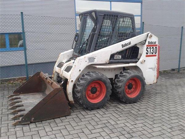 Минипогрузчик Bobcat S130