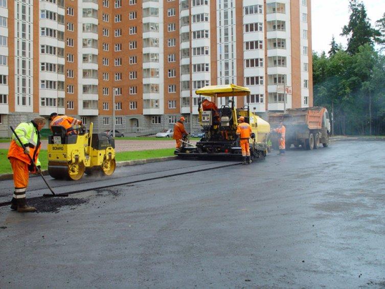 Услуги асфальтирования в Москве и Московской области