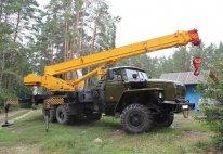 Автокран «Ивановец» 14 тонн (вездеход) в Москве и Московской области